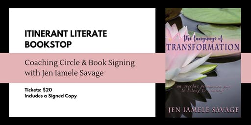 Coaching Circle & Book Signing with Jen Savage