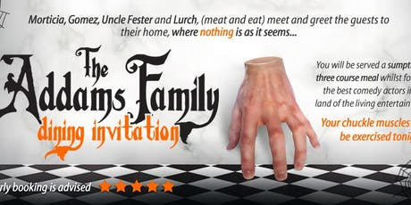 Addams Family Halloween Dinner tickets