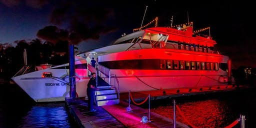 New Year's Eve Dinner Cruise on the Biscayne Lady