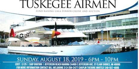 Fifth Annual Detroit Chapter of Tuskegee Airmen Cruise tickets