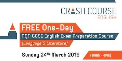 FREE One-Day AQA GCSE English Exam Preparation Course