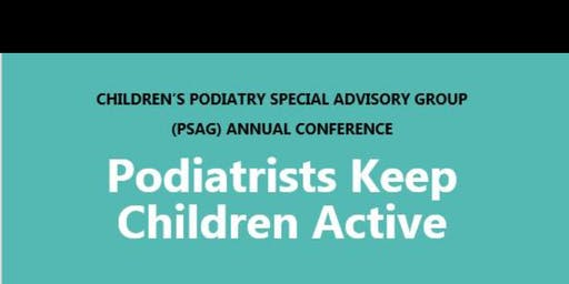 Children's Podiatry Special Advisory Group Annual Conference