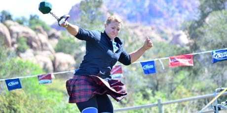 2019 Prescott Highland Games & Celtic Faire Athletics Online Registration  tickets
