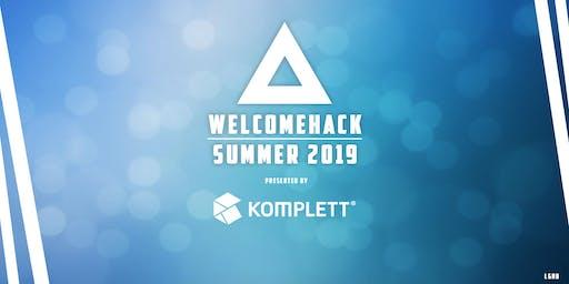Welcomehack Summer 2019