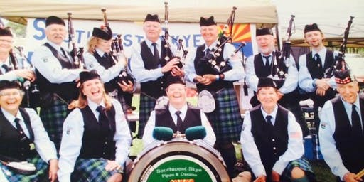 2019 Prescott Highland Games & Celtic Faire Solo Piping Registration Form