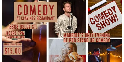 Comedy At Cravings: Round 4