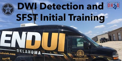 DWI Detection and SFST Initial Training, Tulsa, OK