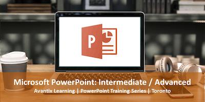 Microsoft PowerPoint Training Course Toronto (Intermediate / Advanced)