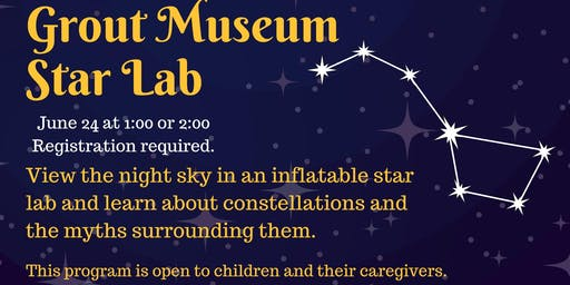 Grout Museum Star Lab