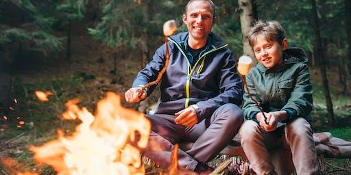 DADS GO WILD! Father's Day Bushcraft Experience