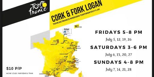 DC -- Cork & Fork Logan Tour de France Tastings
