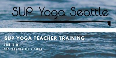 SUP Yoga Seattle + PSUPA Teacher Training