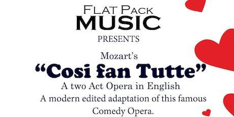 Cosi fan Tutte - Chester tickets