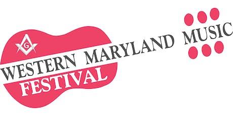 "Western Maryland Music Festival ""7""  tickets"
