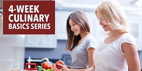 CULINARY COOKING SERIES – 4 Weeks -Saturdays, 1/9/21-10am-West LA tickets