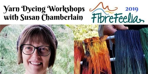 Yarn Dyeing with Instructor Susan Chamberlain