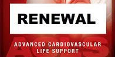 AHA ACLS Renewal November 10, 2019 (INCLUDES Provider Manual and FREE BLS!) from 9 AM to 3 PM at Saving American Hearts, Inc. 6165 Lehman Drive Suite 202 Colorado Springs, Colorado 80918.