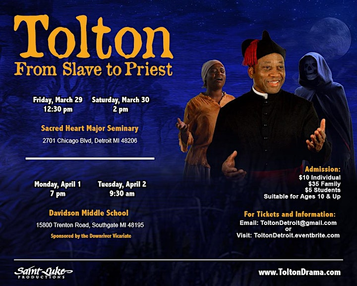 Tolton: From Slave to Priest image