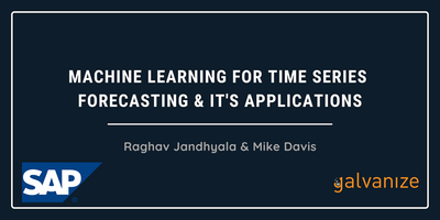 Machine learning for Time Series Forecasting & It's Applications