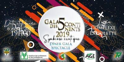 Gala des Cinq Continents 2019