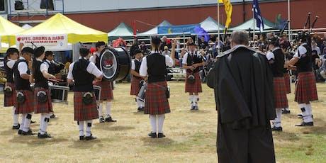 Quartet, Drum Fanfare & Pipe Band - 73rd PNW Scottish Highland Games tickets