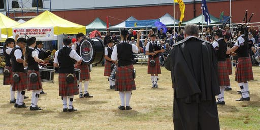 Quartet, Drum Fanfare & Pipe Band - 73rd PNW Scottish Highland Games