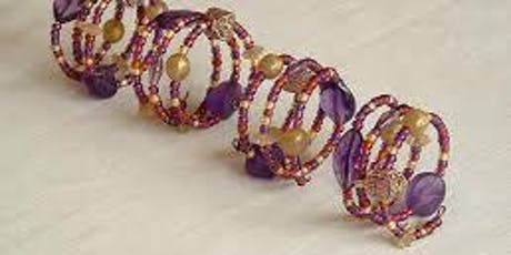Make and Create: Bead and wire napkin ring tickets
