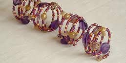 Make and Create: Bead and wire napkin ring