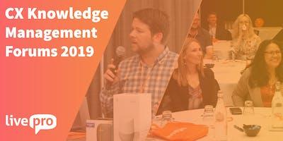 PERTH - CX Knowledge Management Forum
