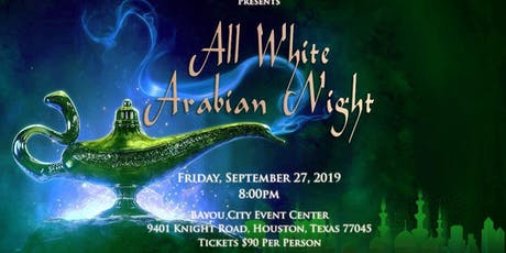 All White Arabian Night tickets
