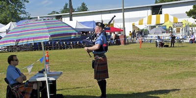 Individual Piping Competition - 73rd Pacific Northwest Scottish Highland Games