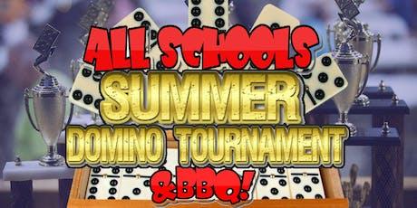 Manchester High School Alumni Association NY (MHSAANY) 'ALL SCHOOLS' Summer Domino Tournament & BBQ! tickets