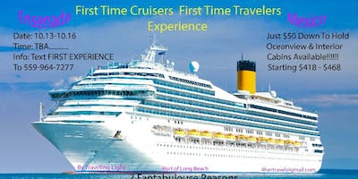 4 DAY 1ST TIME CRUISE EXPERIENCE