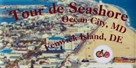 Tour de Seashore - Cycle Ocean City, Maryland to Fenwick Island, Delaware tickets