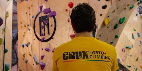 CRUX LGBTQ Climbing - Third Thursdays at BKBQB tickets