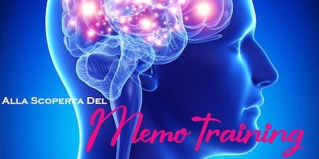 Alla scoperta del Memotraining - apprendimento rapido e memorizzazione biglietti