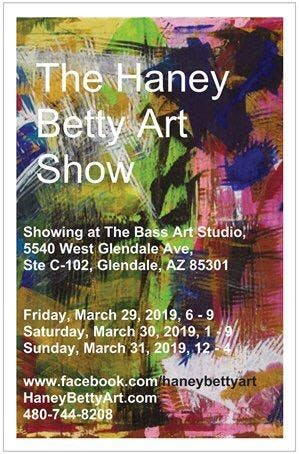 The HaneyBettyArt Show