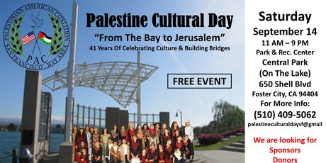 Palestine Cultural Day tickets
