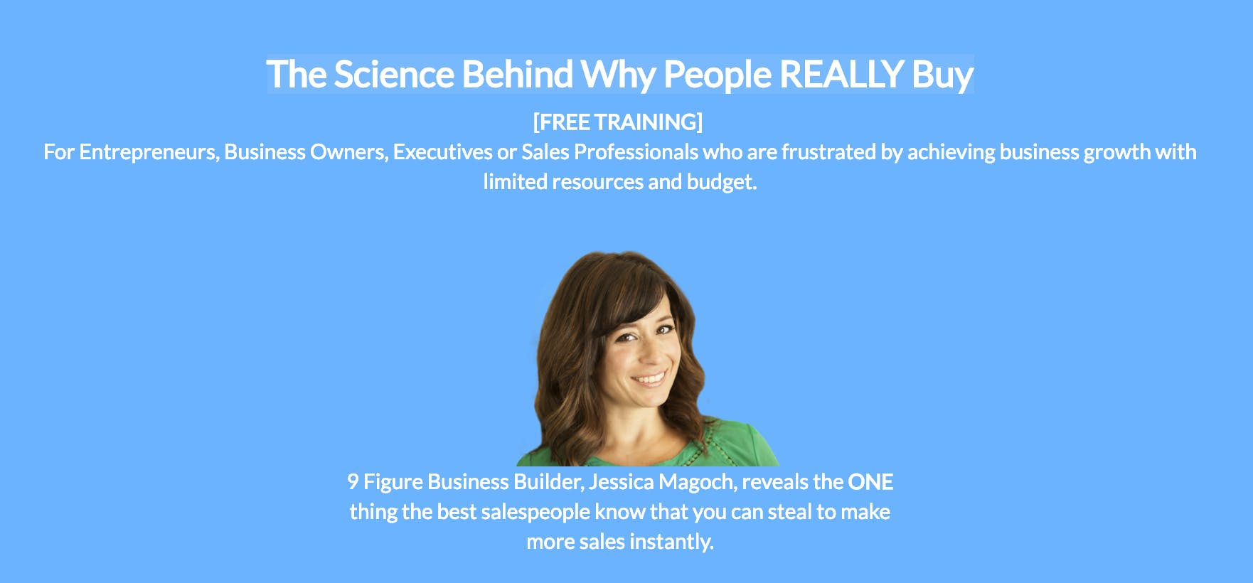 Dublin: The Science Behind Why People REALLY Buy [FREE ONLINE B2B SALES TRAINING]