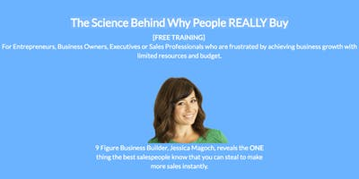 Dudley: The Science Behind Why People REALLY Buy [FREE ONLINE B2B SALES TRAINING]