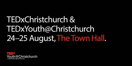 TEDxYouth@Christchurch 2019 | August 24 tickets