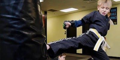 Free Karate for Concentration Workshop!