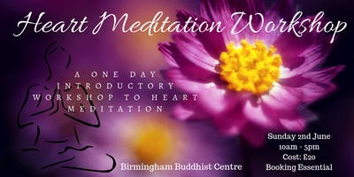 Birmingham Heart Meditation An Introductory Workshop