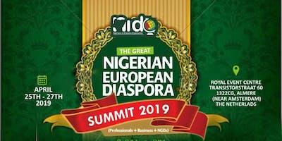 The Great Nigerian European Diaspora Summit 2019