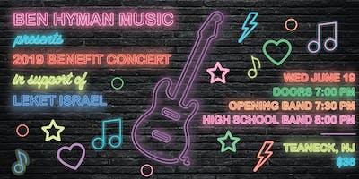 Ben Hyman Music Benefit Concert 2019--Opening Band