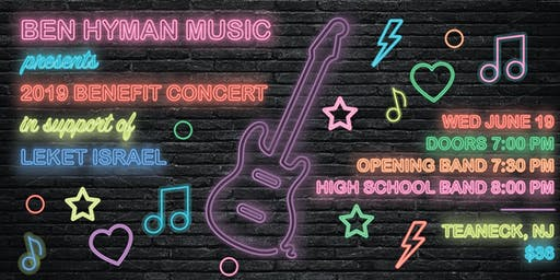 Ben Hyman Music Benefit Concert 2019--Opening Band & High School Band