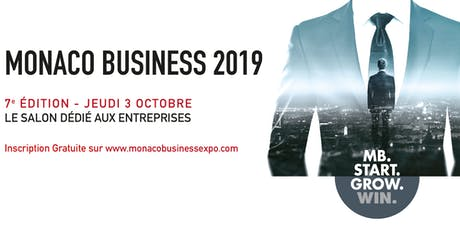 MONACO BUSINESS 2019 billets