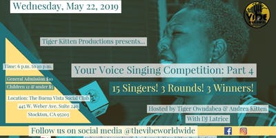 Your Voice Singing Competition: Part 4