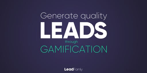 Generate Quality Leads with Marketing Gamification