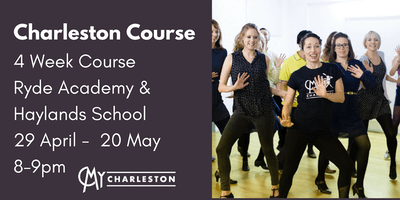 4 Week Charleston Course at Ryde Academy & Haylands